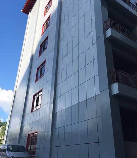 贵定县中医院油性漆外墙工地项目