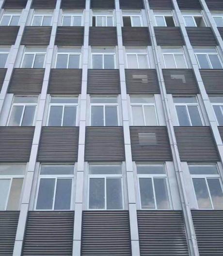 贵州安顺师范学院特教楼金属氟碳漆项目
