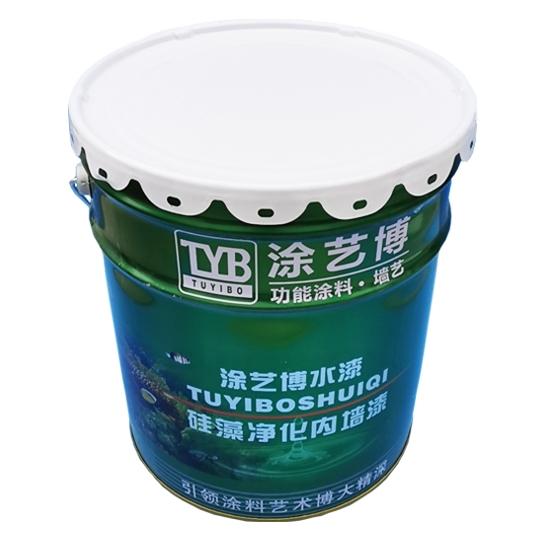 硅藻净化内墙漆