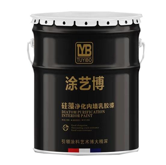 遵义硅藻净化内墙乳胶漆